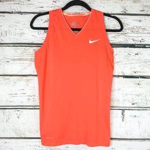 Nike Pro Combat Fitted Dri-Fit Tank Workout Top Sm